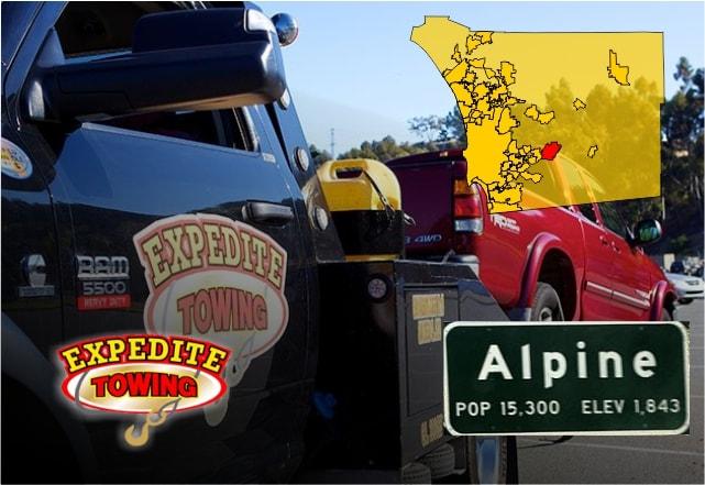 Towing Alpine – Roadside Assistance